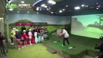 LPGA vs KLPGA 의 혼성 2:2 매치 대결
